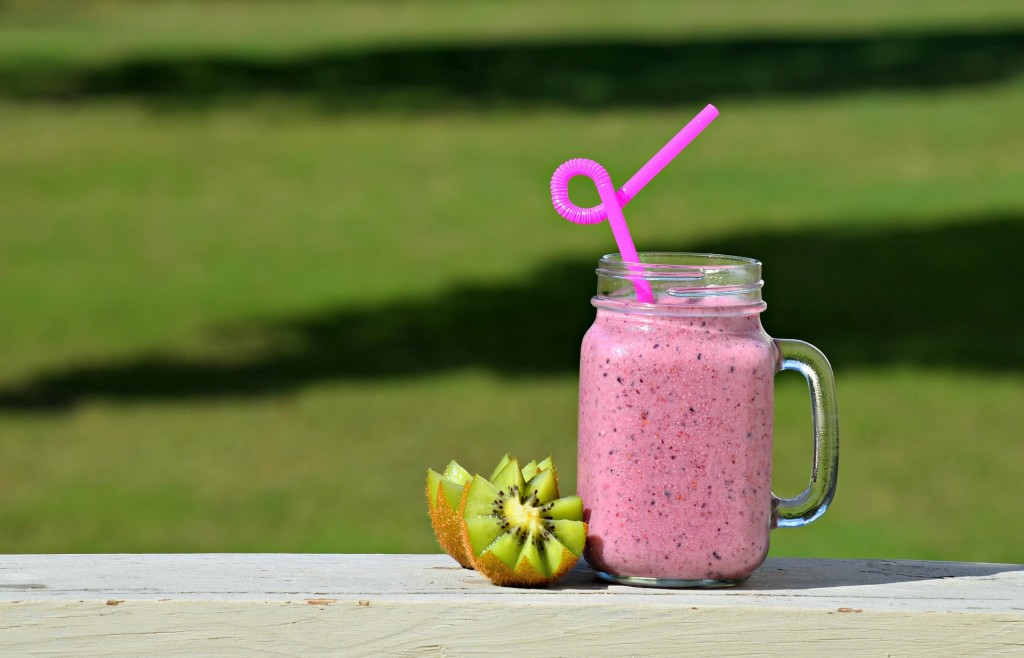My kids love Martha Stewart's blueberry cucumber smoothie, which is refreshing and packed with antioxidants!