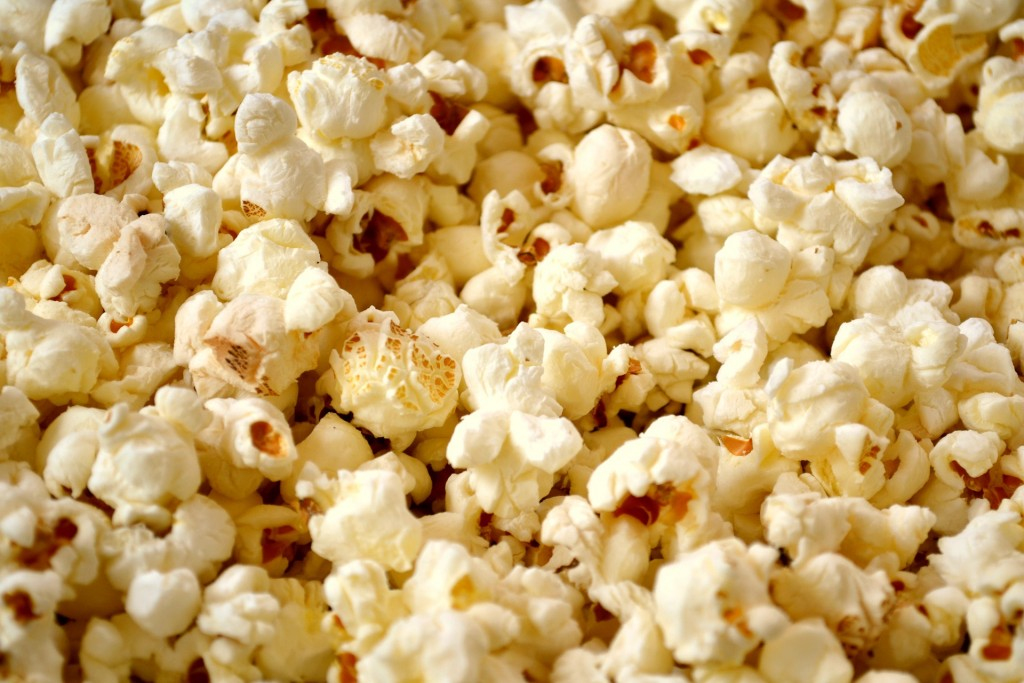 Who doesn't love chowing down on a bowl of popcorn? At our house, we make it ourselves on the stove top for a healthy snack!