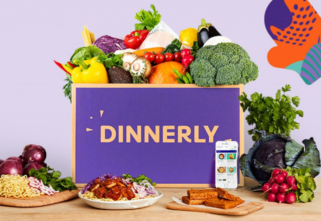 You can choose from various menus, including vegetarian, paleo, gluten-free, and even customized meals for picky eaters. Photo courtesy of Dinnerly.